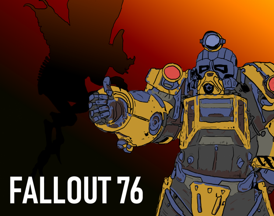 A+scorch+beast+queen+behind+the+games+Excavator+power+armor.