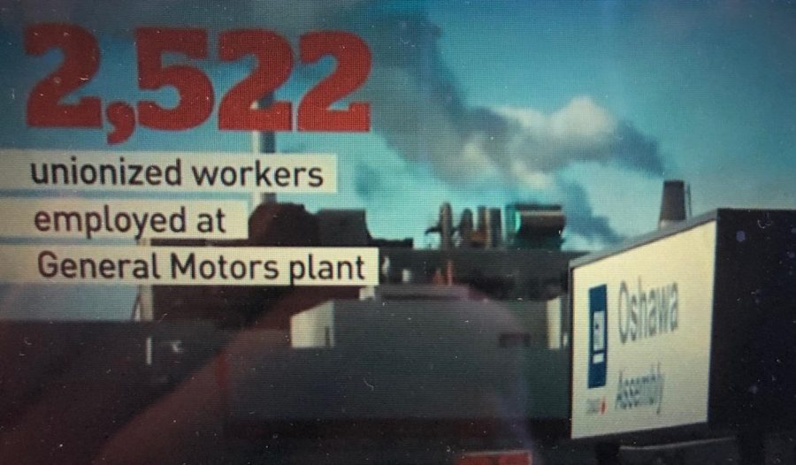 The Oshawa GM plant will be closing soon resulting in over 2500 jobs.