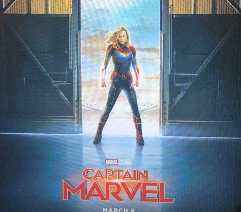 The poster for Captain Marvel.