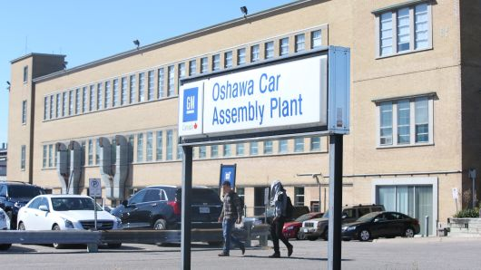 General Motors Oshawa Car Assembly Plant