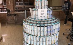 Adams Prepares for Canned Food Drive
