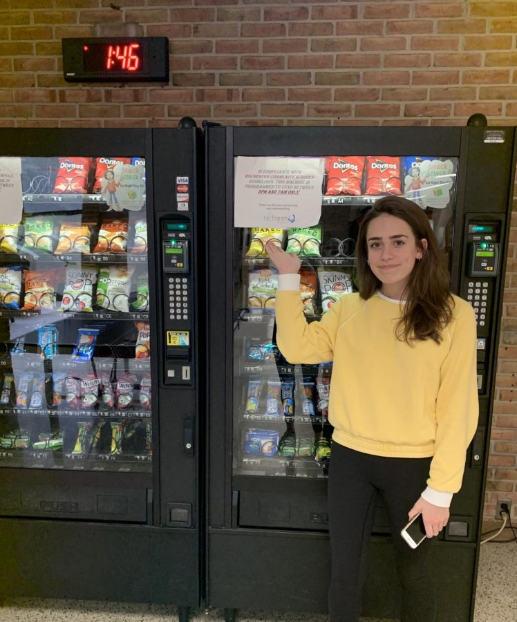 A hungry student unable to buy a snack.