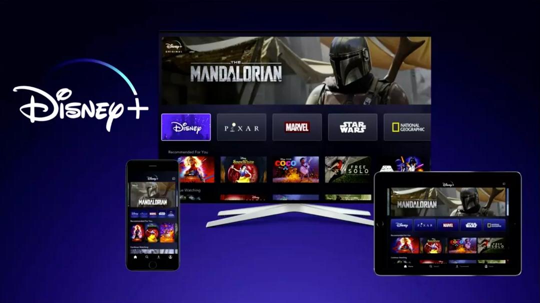Disney+ streaming device variety