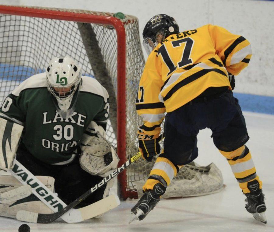 Jack Myers battles for a rebound