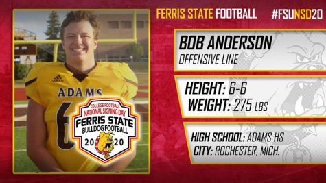 Ferris State released these official profiles of the signees