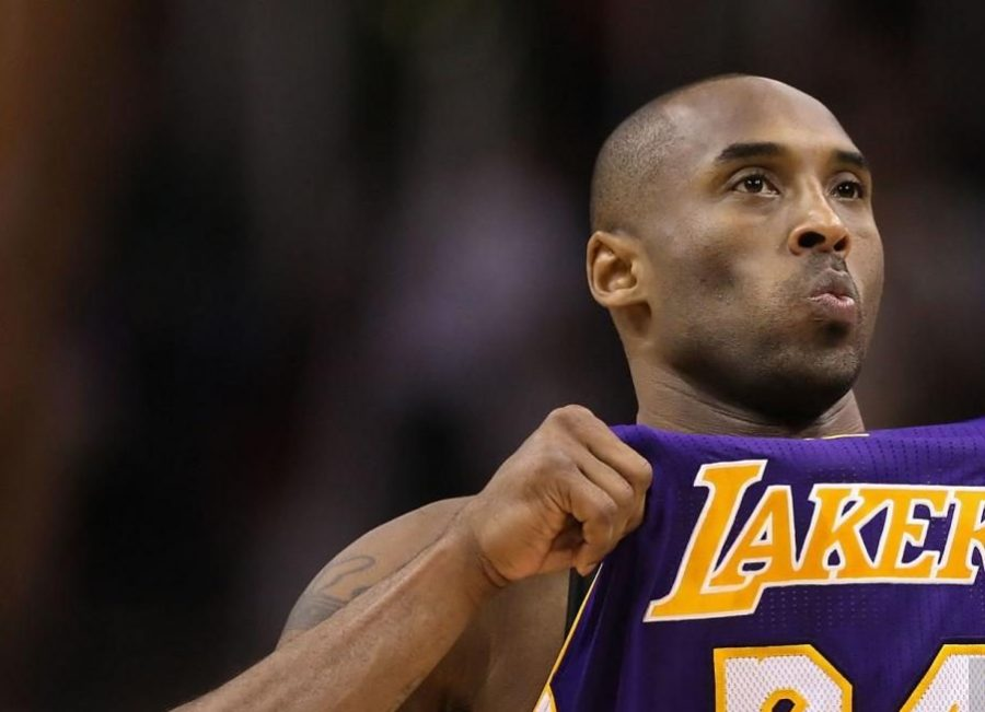 Kobe Bryant while playing for the LA Lakers