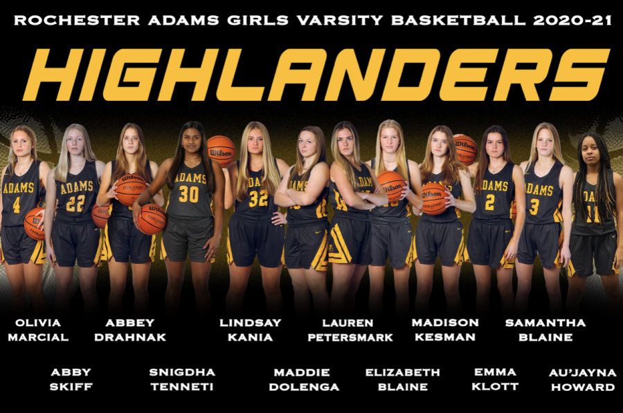 Girls varsity banner